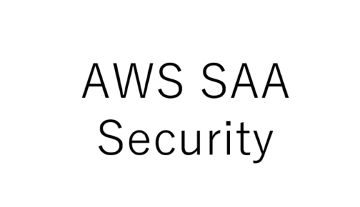 AWS-SAA-Security